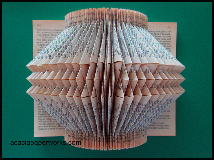 180 Degree Folded Book